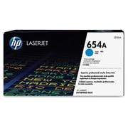 HP654A (CF331A) Cartouche de toner HPLaserJet cyan d'origine