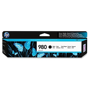HP 980 Ink Cartridge, Inkjet, Black, (D8J10A)