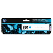HP 980 Ink Cartridge, Inkjet, Cyan, (D8J07A)