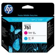 HP – Tête d'impression 761, jet d'encre, cyan, (CH646A)