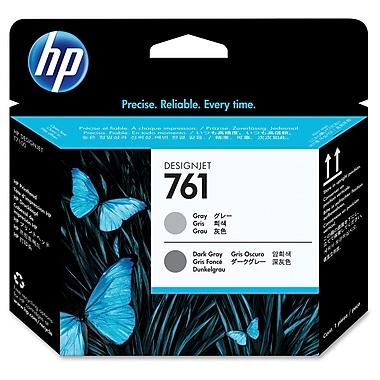 HP 761 Printhead, Inkjet, Gray, Dark Grey, (CH647A)