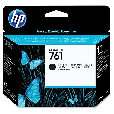 HP 761 Printhead, Inkjet, Matte Black, (CH648A)