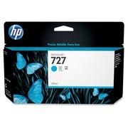 HP – Cartouche d'encre 727, jet d'encre, rendement standard, cyan (B3P19A)