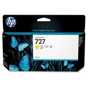 HP – Cartouche d'encre 727, jet d'encre, rendement standard, jaune (B3P21A)