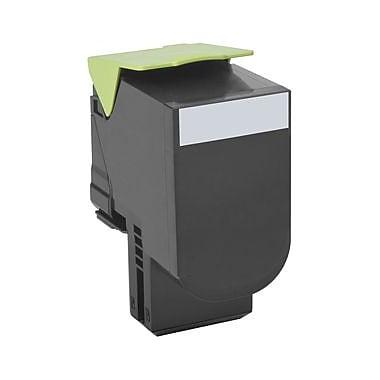 Lexmark – Cartouche de toner Unison 800H1, laser, haut rendement, fabricant d'origine, noir, (80C0H10)