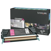 Lexmark Return Program Toner Cartridge, Laser, Extra High Yield, OEM, Magenta, (C5340MX)