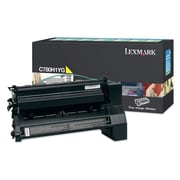 Lexmark Return Program Toner Cartridge, Laser, High Yield, Yellow, (C780H1YG)