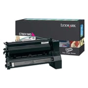 Lexmark Return Program Toner Cartridge, Laser, Extra High Yield, Magenta, (C782X1MG)