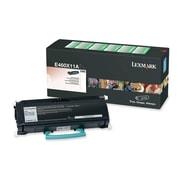 Lexmark Return Program Toner Cartridge, Laser, Extra High Yield, Black, (E460X11A)