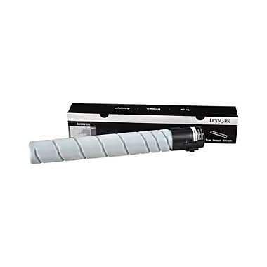Lexmark Toner Cartridge, Laser, High Yield, Black