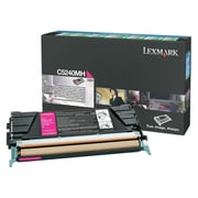Lexmark Return Program Toner Cartridge, Laser, High Yield, Magenta, (C5240MH)