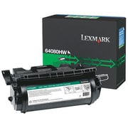 Lexmark Toner Cartridge, Laser, Black, (64080HW)