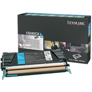 Lexmark Toner Cartridge, Laser, Extra High Yield, OEM, Cyan, (C5340CX)