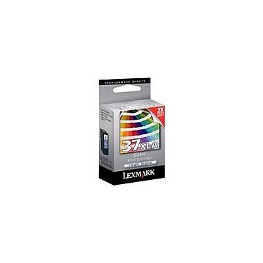 Lexmark – Cartouche d'encre no.37XLA, jet d'encre, haut rendement, couleur, (18C2200)