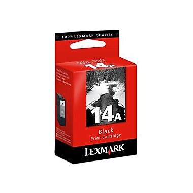 Lexmark – Cartouche d'encre No.14A, jet d'encre, noir, (18C2080)