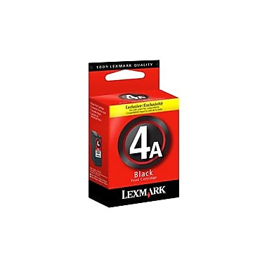 Lexmark #4A Ink Cartridge, Inkjet, Black, (18C1954)