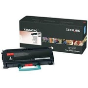 Lexmark Toner Cartridge, Laser, Black, (X463A21G)