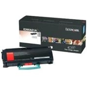 Lexmark Toner Cartridge, Refurbished, Laser, Black, (E260A80G)