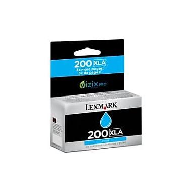 Lexmark 200XLA Ink Cartridge, Inkjet, Cyan, (14L0198)
