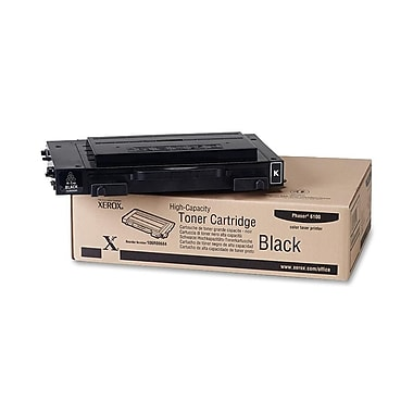 Xerox Phaser 6100 Black Toner Cartridge, High Yield (106R00684)