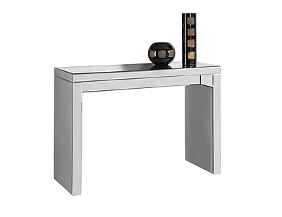 Monarch Specialties Console Table In A Mirrored+ Finish ( I 3717 )