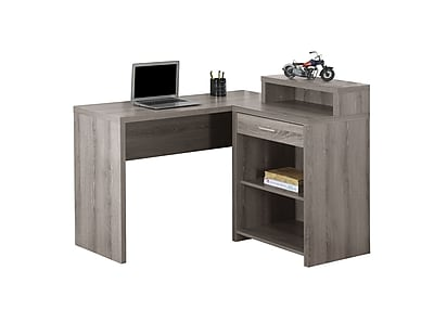 Monarch Specialties Computer Desk in Taupe (I 7125)