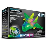 Laser Pegs® Lighted Power Blocks Aircraft, Multicolor (MPS100B)
