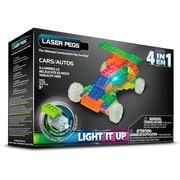 Laser Pegs® Lighted Power Blocks Cars, Multicolor (MPS300B)