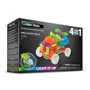 Laser Pegs® Lighted Power Blocks Mini Super Truck, Multicolor (MPS600B)