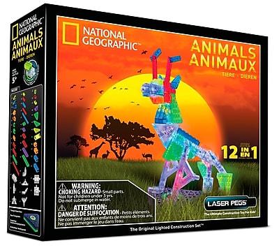 Laser Pegs® Lighted Power Blocks Photon Runner, Multicolor (RN2180B)