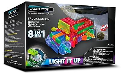 Laser Pegs® Lighted Power Blocks Truck, Multicolor (PB1430B)