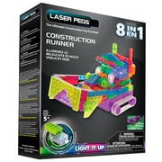 Laser Pegs® Lighted Power Blocks Construction Runner, Multicolor (RN2170B)
