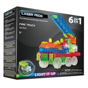 Laser Pegs® Lighted Power Blocks Fire Truck, Multicolor (ZD180B)