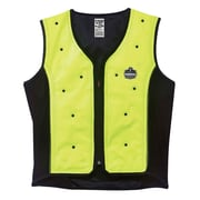 Ergodyne Chill-Its 6685 Dry Evaporative Cooling Vest, Lime, 4XL (12678)