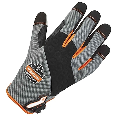 Ergodyne 710 Heavy-Duty Utility Glove, Gray, S, Pair (17042)