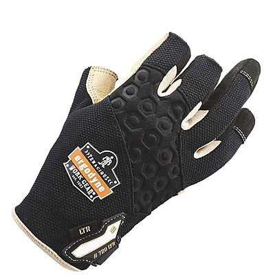 Ergodyne 720LTR Heavy-Duty Leather-Reinforced Framing Gloves, XL, Pair (17155)