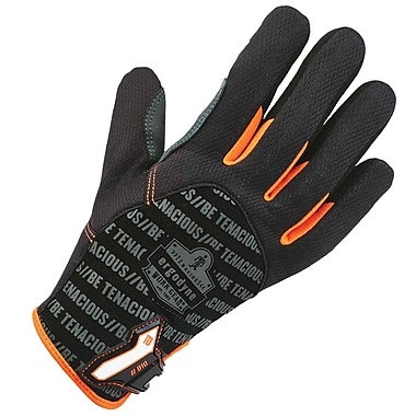 Ergodyne 810 Reinforced Utility Glove, Black, 2XL, Pair (17226)