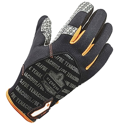 Ergodyne 821 Smooth Surface Handling Glove, Black, 2XL, Pair (17236)