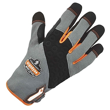 Ergodyne 820 High-Abrasion Handling Glove, Gray, L, Pair (17244)