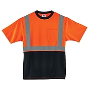 Ergodyne® GloWear 8289BK Class 2 T-Shirt, Orange, 3XL