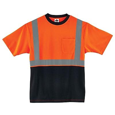 Ergodyne GloWear 8289BK Class 2 T-Shirt, Orange, 3XL (22517)