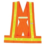 Ergodyne® GloWear 8140BA Class 1 Sash, Orange, MD/LG