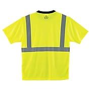 Ergodyne® GloWear 8289BK Class 2 T-Shirt, Lime, 3XL