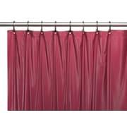 Sheer Grommet Shower Curtain, Burgundy, (SC510BUR)
