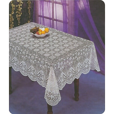 Nusso Nappe Crochet Tablecloth, 60