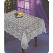 Nusso – Nappe de table crochet, blanc
