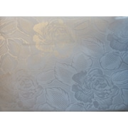 "Nusso Celebrity Damask Tablecloth, 60"" x 180"", White"