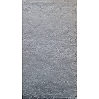 Nusso – Nappe de table effet relief, 60x90 po, blanc