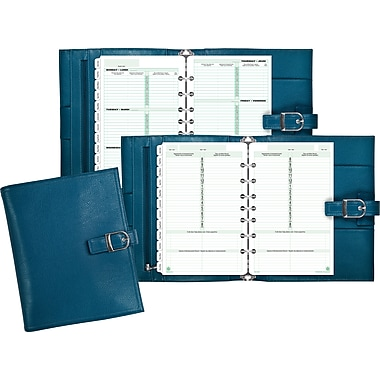 Day-Timer® Fashion Desk Starter Set Solstice, Teal, Bilingual