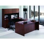 Conklin Office Furniture 7-Piece U-Shape Desk Office Suite